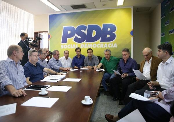 Reunião entre base governista e cúpula PSDB. Arquivo. Foto: José Cruz/Agência Brasil