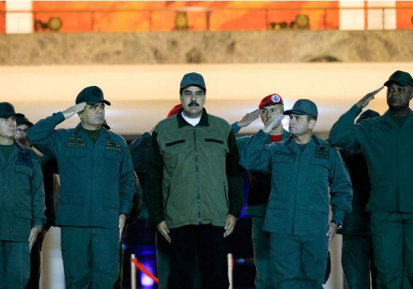 Foto: Palácio de Miraflores/via Reuters