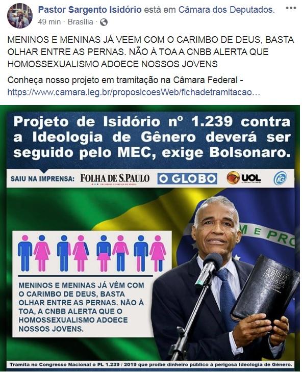 isidorio facebook