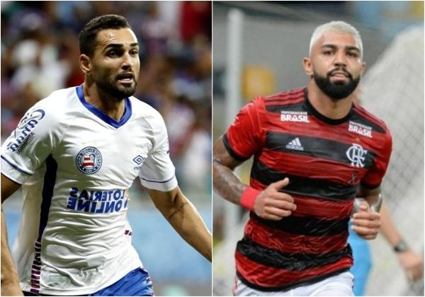 Fotos: Divulgação / E.C Bahia / Flamengo