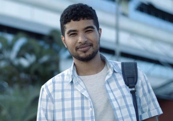Leonardo Barbosa - Aluno de Engenharia Química do SENAI CIMATEC - Foto: Movioca
