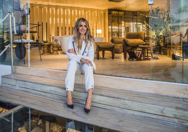 Nathália Velame no Refúgio Itacaré. Foto: Lucas Assiz.