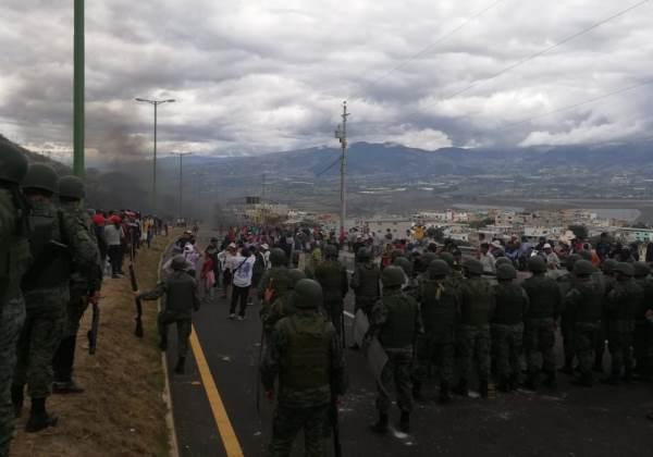 Foto: Exército Equatoriano