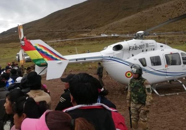 helicoptero foto facebook joshua bellot