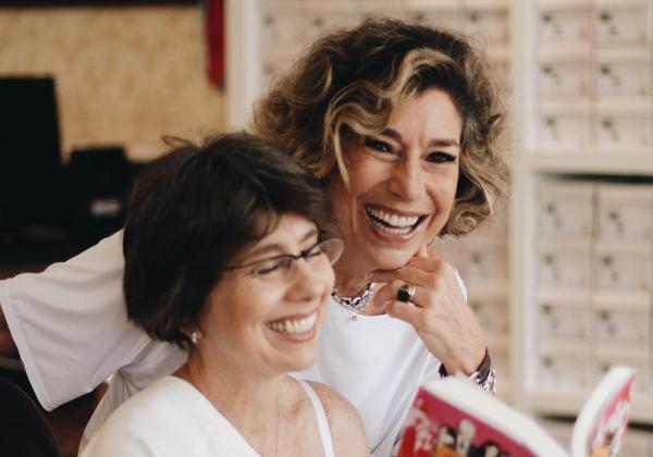 As irmãs Consuelo e Alessandra. Foto: divulgação.