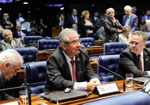 Senador Angelo Coronel, presidente da CPMI das Fake News (Foto: Roque de Sá/Agência Senado)