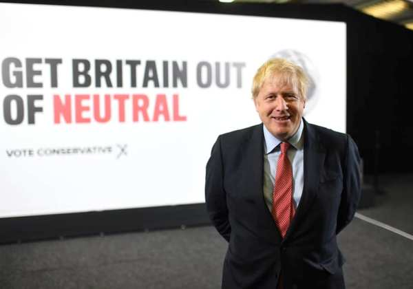 Foto; Reprodução/Facebook/Boris Johnson