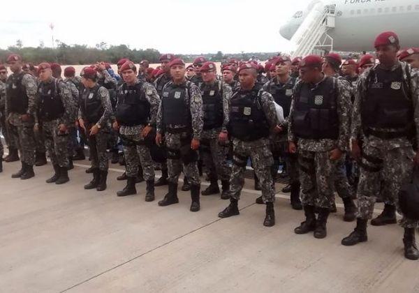 Força Nacional de Segurança Pública - FNSP/MJ/Divulgação
