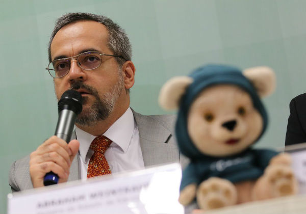 Abraham Weintraub, ministro da Educação (Foto: Fabio Rodrigues Pozzebom/Agência Brasil)