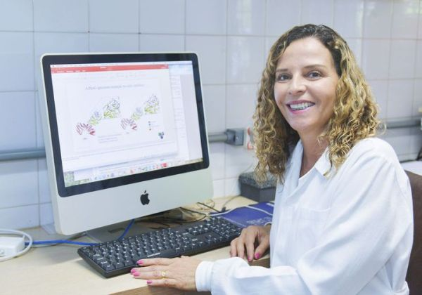 Ana Paula Junqueira Kipnis, pesquisadora da UFG - Foto: Ana Fortunato/Secom/UFG