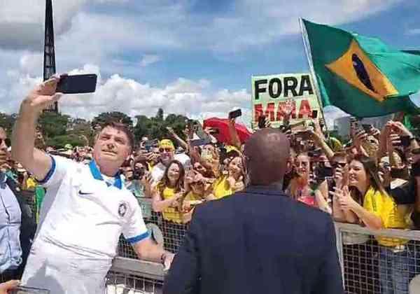 Imagem: Reprodução/Facebook/Jair Bolsonaro