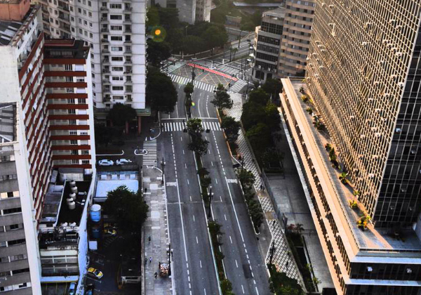 Área central de São Paulo (Foto: Fernanda Carvalho/ Fotos Públicas)