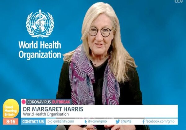 Margareth Harris, porta-voz da OMS (Imagem: Reprodução/YouTube)