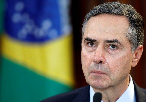 Ministro Luiz Barroso, presidente do TSE (Foto: Roberto Jayme/Tribunal Superior Eleitoral)