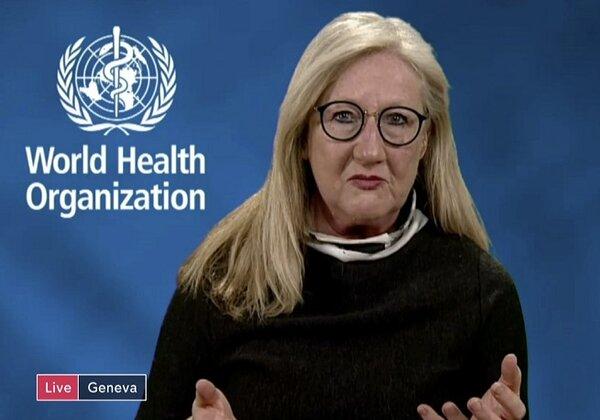 Margaret Harris, porta-voz da OMS (Imagem: Reprodução/YouTube)