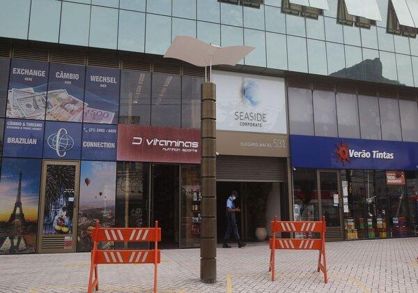 Centros comerciais da Barra da Tijuca (Foto: Fernando Frazão/Agência Brasil)