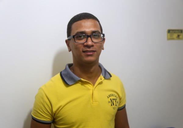 Professor de inglês, Victor Lopes Foto: Bruno Concha/Secom