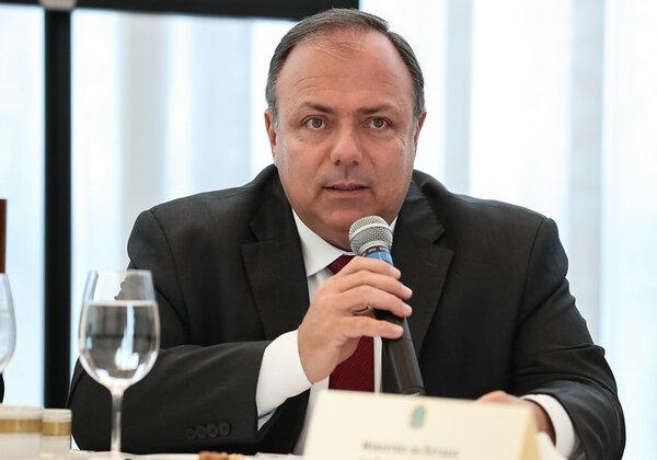 General Eduardo Pazuello, ministro da Saúde (Foto: Marcos Corrêa/PR)
