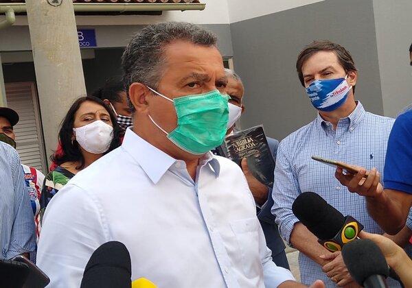 Governador Rui Costa (PT) Foto: Matheus/Morais