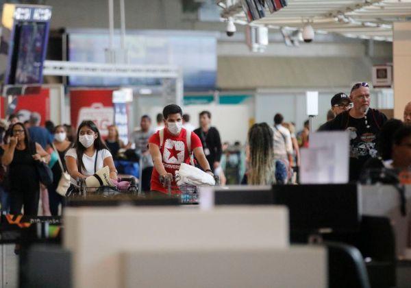 Aeroporto Internacional Tom Jobim- Rio Galeão. Foto: Fernando Frazão/Agência Brasil
