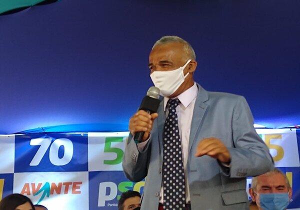 Isidório, deputado federal e candidato a prefeito de Salvador (Foto: Matheus Morais/bahia.ba)