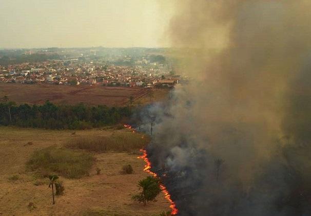 Mato Gosso MT 13 09 2020-Incêndio no Pantanal (Foto: Mayke Toscano/Secom-MT)
