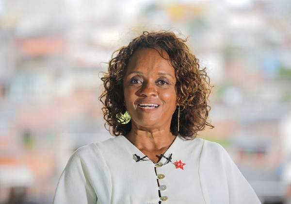 Foto: Jonas Santos/ Divulgação candidata Major Denice