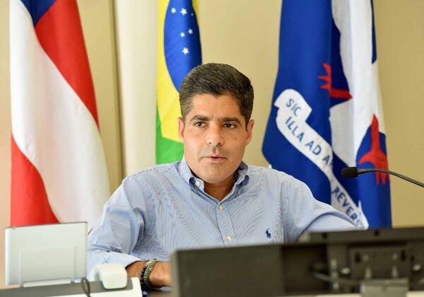 ACM Net (DEM), prefeito de Salvador (Foto: Valter Pontes/Secom)