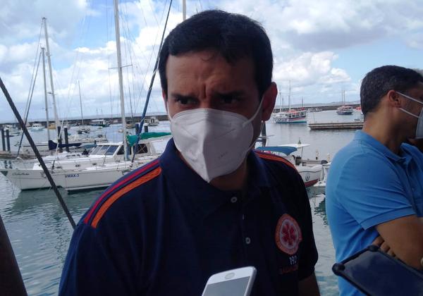 Leo Prates, secretario de Saúde de Salvador (Foto: Matheus Morais)