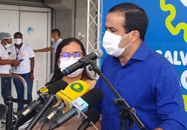 Bruno Reis, prefeito de Salvador (Foto: Matheus Morais/bahia.ba)