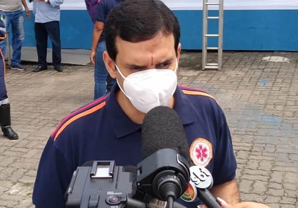 Leo Prates, secretário municipal de Saúde (Foto: Matheus Morais/bahia.ba)