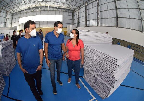 Bruno Reis hospital de campanha Itapuã