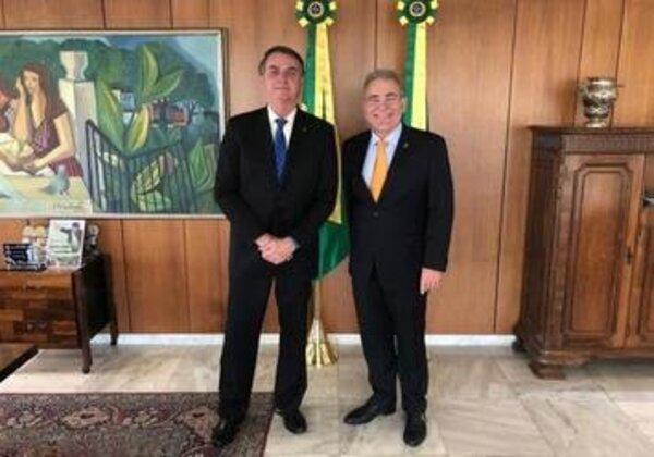 Bolsonaro e Queiroga - Divulgação/Presidência da República