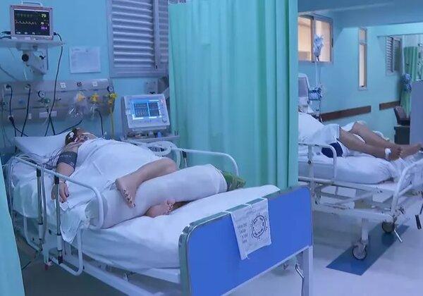 Leitos de UTI para Covid-19 em hospitais do interior de SP (Imagem: Reprodução/CNN)