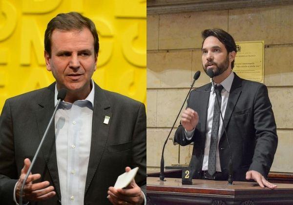 Fotos: Tomaz Silva/Agência Brasil | Renan Olaz/Câmara Municipal do Rio de Janeiro
