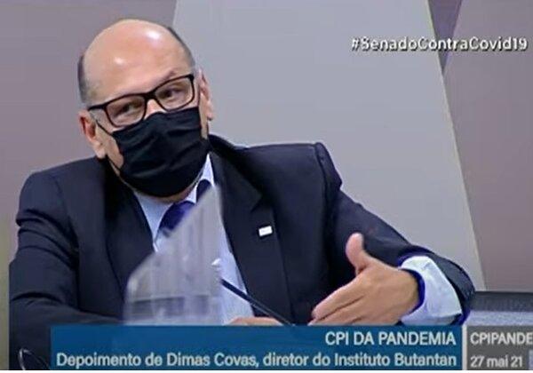 Dimas Covas (Foto: Reprodução/TV Senado)