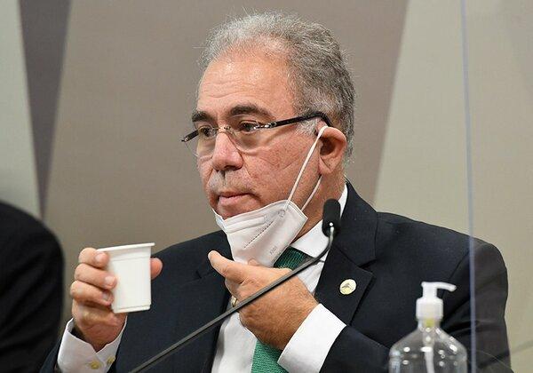 Marcelo Queiroga, ministro da Saúde (Foto: Agência Senado)
