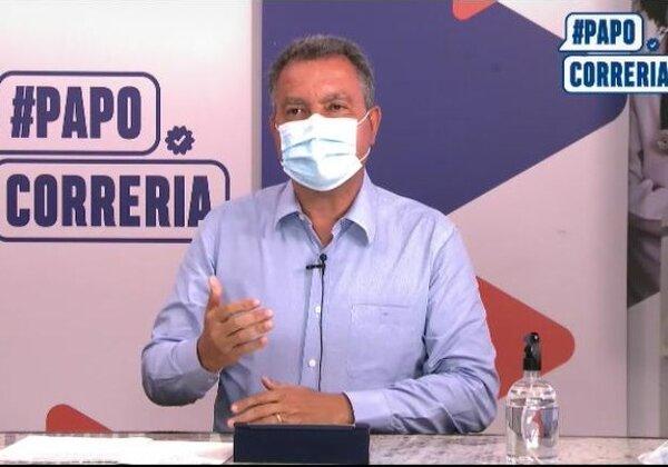 Rui Costa, governador da Bahia (Imagem: ReproduçãoYouTube)