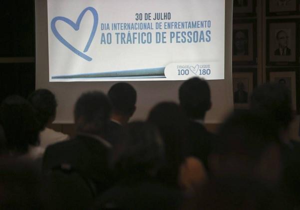 30.07.2019, Brasília, Cerimônia comemorativa do Dia Mundial e Nacional de Enfrentamento ao Tráfico de Pessoas. (Foto: José Cruz/Agência Brasil)